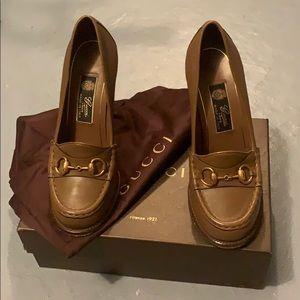 Platform Gucci Loafers